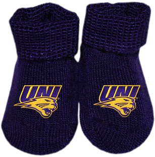 Iowa Panthers Gift Box Baby Bootie