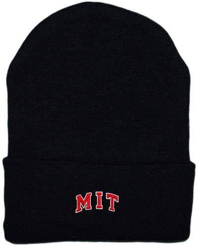 d912b08e7cf MIT Engineers Arched M.I.T. Newborn Baby Knit Cap