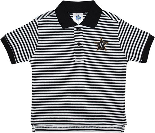745b29f4d5 Vanderbilt Commodores Toddler Striped Polo Shirt