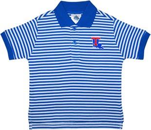 40b842aa6 Louisiana Tech Bulldogs Toddler Striped Polo Shirt