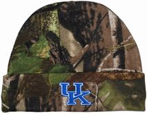 Kentucky Wildcats Newborn Realtree Camo Knit Cap