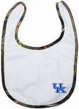 Kentucky Wildcats Realtree Camo Newborn Bib