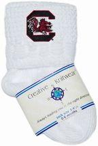 South Carolina Gamecocks Non-Kickoff Baby Newborn Bootie