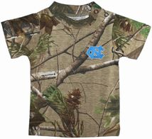 North Carolina Tar Heels Realtree Camo Short Sleeve T-Shirt