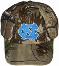 North Carolina Tar Heels Realtree Camo Baseball Cap