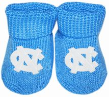 North Carolina Tar Heels Gift Box Baby Bootie