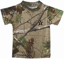 Vanderbilt Commodores Realtree Camo Short Sleeve T-Shirt