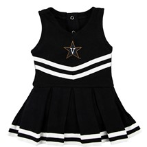 Vanderbilt Commodores Cheerleader Bodysuit Dress