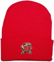 Maryland Terrapins Newborn Baby Knit Cap