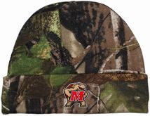 Maryland Terrapins Newborn Realtree Camo Knit Cap