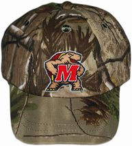 Maryland Terrapins Realtree Camo Baseball Cap