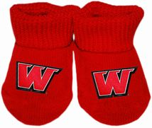 Montana Western Bulldogs Gift Box Baby Bootie