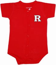 Rutgers Scarlet Knights Front Snap Newborn Bodysuit