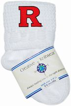 Rutgers Scarlet Knights Non-Kickoff Baby Newborn Bootie