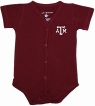 Texas A&M Aggies Front Snap Newborn Bodysuit