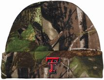 Texas Tech Red Raiders Newborn Realtree Camo Knit Cap