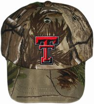Texas Tech Red Raiders Realtree Camo Baseball Cap