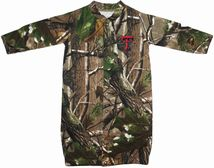 "Texas Tech Red Raiders Realtree Camo ""Convertible"" Gown (Snaps into Romper)"