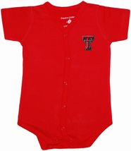 Texas Tech Red Raiders Front Snap Newborn Bodysuit