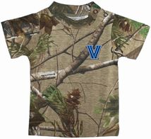 Villanova Wildcats Realtree Camo Short Sleeve T-Shirt