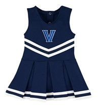 Villanova Wildcats Cheerleader Bodysuit Dress