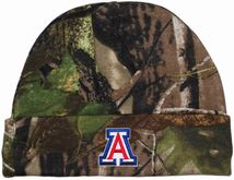 Arizona Wildcats Newborn Realtree Camo Knit Cap