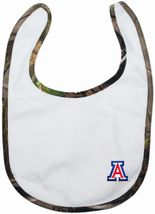 Arizona Wildcats Realtree Camo Newborn Bib