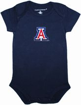 Arizona Wildcats Newborn Infant Bodysuit