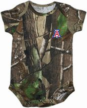 Arizona Wildcats Realtree Camo Newborn Infant Bodysuit
