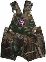 Arizona Wildcats Realtree Camo Short Leg Overall