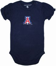 Arizona Wildcats Puff Sleeve Bodysuit