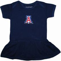 Arizona Wildcats Picot Bodysuit Dress