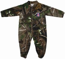 Arizona Wildcats Realtree Camo Footed Romper