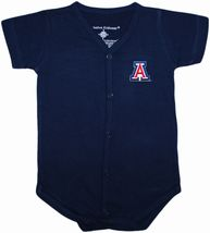 Arizona Wildcats Front Snap Newborn Bodysuit