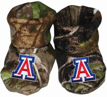 Arizona Wildcats Realtree Camo Baby Bootie