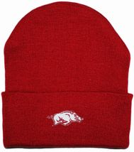 Arkansas Razorbacks Newborn Baby Knit Cap