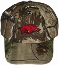 Arkansas Razorbacks Realtree Camo Baseball Cap