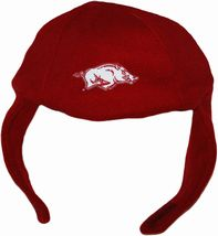 Arkansas Razorbacks Chin Strap Beanie