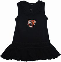 Bowling Green State Falcons Ruffled Tank Top Dress