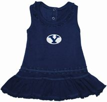 BYU Cougars Ruffled Tank Top Dress