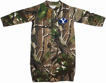 "BYU Cougars Realtree Camo ""Convertible"" Gown (Snaps into Romper)"