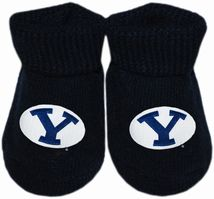 BYU Cougars Gift Box Baby Bootie