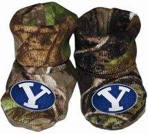 BYU Cougars Realtree Camo Baby Bootie