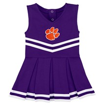 Clemson Tigers Cheerleader Bodysuit Dress