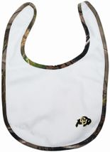 Colorado Buffaloes Realtree Camo Newborn Bib