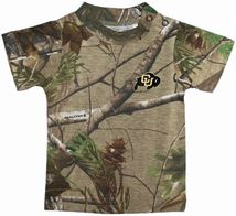 Colorado Buffaloes Realtree Camo Short Sleeve T-Shirt