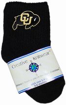 Colorado Buffaloes Baby Bootie