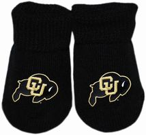 Colorado Buffaloes Gift Box Baby Bootie