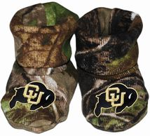 Colorado Buffaloes Realtree Camo Baby Bootie