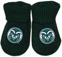 Colorado State Rams Gift Box Baby Bootie